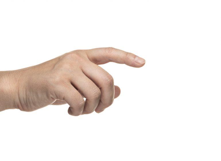 ばね指(弾発指)